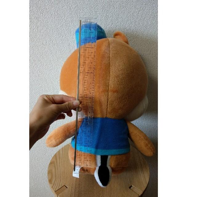チップ&デール(チップアンドデール)の【ディズニーシー】非売品デールぬいぐるみ エンタメ/ホビーのおもちゃ/ぬいぐるみ(キャラクターグッズ)の商品写真