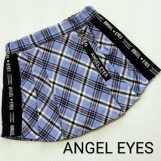ANGEL EYES*プリーツキュロットスカート*チェック柄*130cm(スカート)