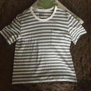 ムジルシリョウヒン(MUJI (無印良品))の無印 試着のみ ボーダーT  レディース L(Tシャツ(半袖/袖なし))