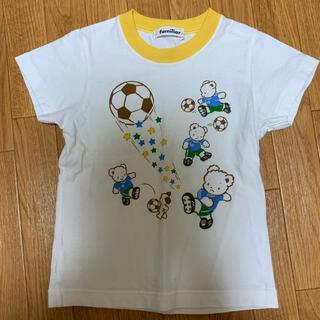 familiar - ファミリア Tシャツ サッカー 110  6月末まで