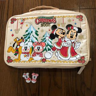 ディズニー(Disney)の【新品】東京ディズニーシーHARBORSIDE CHRISTMASのポーチ(ポーチ)