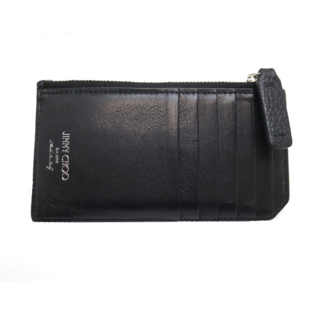 JIMMY CHOO(ジミーチュウ)のジミーチュウ コインケース CASEY EMG /173 レディースのファッション小物(コインケース)の商品写真