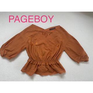 ページボーイ(PAGEBOY)のPAGEBOY 刺繍トップス(シャツ/ブラウス(長袖/七分))