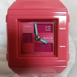 ベビージー(Baby-G)の値下げ 新品電池交換済み 美品 カシオBaby-G BGA-200カスケット(腕時計)