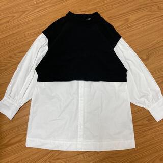 ZARA - ZARA ドッキングシャツ ベスト