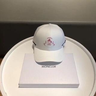MONCLER - MONCLER モンクレール キャップ 帽子 新品未使用