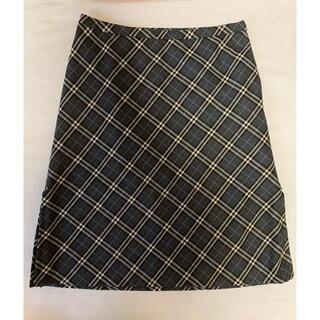 バーバリーブルーレーベル(BURBERRY BLUE LABEL)のバーバリー スカート 38(ひざ丈スカート)