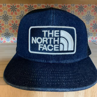 THE NORTH FACE - ザノースフェイス.キャップキッズM デニム地