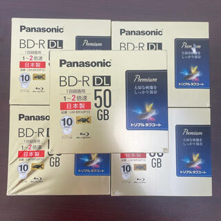 パナソニック(Panasonic)のパナソニックBD-R 10パック×5(その他)