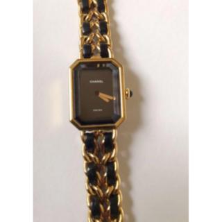 シャネル(CHANEL)のCHANEL シャネルプルミエールM 腕時計(腕時計)