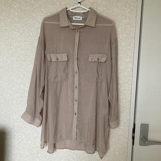 シアーシャツ Mサイズ