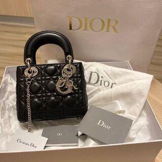Christian Dior - Lady Diorレディディオール ミニバッグ