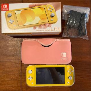 Nintendo Switch - Nintendo Switch Lite イエロー 中古