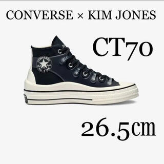 CONVERSE - 新品【コンバース×キム・ジョーンズ】ct70 ブラック US8(26.5cm)
