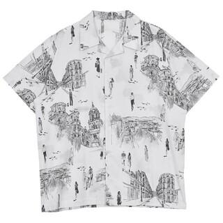 Ameri VINTAGE - MEDI MALAGA OVER SHIRTシャツ アメリ
