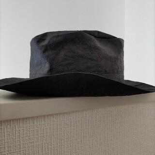 ヨウジヤマモト(Yohji Yamamoto)のSCHA シャー Traveller Paper HAT black(ハット)