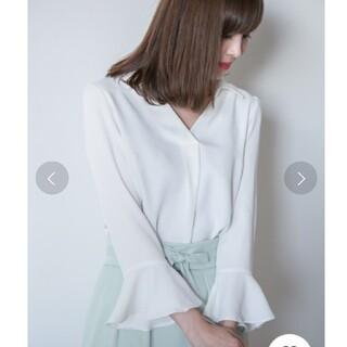PROPORTION BODY DRESSING - プロポーションボディドレッシング ブラウス サイズ 2 カラー ホワイト 白