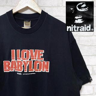 ナイトレイド(nitraid)のnitraid ナイトレイド ANTI BABYLON 両面プリント Tシャツ(Tシャツ/カットソー(半袖/袖なし))