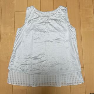 クミキョク(kumikyoku(組曲))の組曲⭐︎トップス⭐︎サイズ9号⭐︎水色(カットソー(半袖/袖なし))