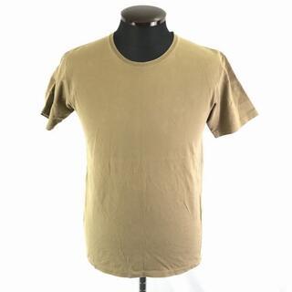 グッチ(Gucci)のグッチ GUCCI イタリア製/半袖Tシャツ メンズS 茶色 ブラウン/カーキ(Tシャツ/カットソー(半袖/袖なし))