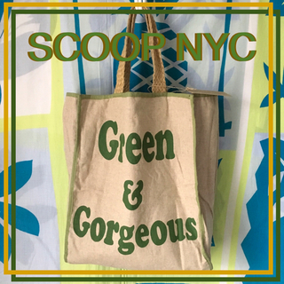 Ron Herman - SCOOP NYC スクープニューヨーク限定hemp麻エコトートバッグ