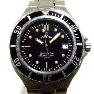 オメガ(OMEGA)のOMEGA(オメガ) 腕時計 メンズ 黒(その他)