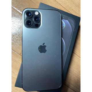 Apple - 【美品】iphone12 pro 256GB グラファイト simフリー残債無し