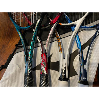 YONEX - ソフトテニス ラケット 4本セット