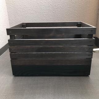 MOUNTAIN RESEARCH - 6/21迄 キャンプ 収納 大型 ボックス Black ウォルーナット