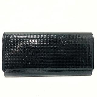 カルティエ(Cartier)のカルティエ 長財布 ハッピーバースデー 黒(財布)