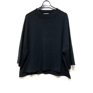 アドーア(ADORE)のアドーア 長袖セーター サイズ38 M - 黒(ニット/セーター)