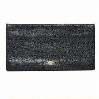 デュポン(DuPont)のDupont(デュポン) 札入れ - 黒 レザー(財布)