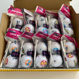 PEARLY GATES - 【新品】ジャックバニー ゴルフボール2球&ティー2本×10袋セット