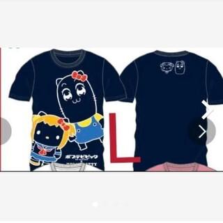 サンリオ(サンリオ)のサンリオ ポプテピピック 半袖 Tシャツ L(Tシャツ/カットソー(半袖/袖なし))