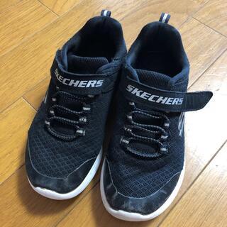 スケッチャーズ(SKECHERS)のスケッチャーズ 黒のスニーカー (スニーカー)