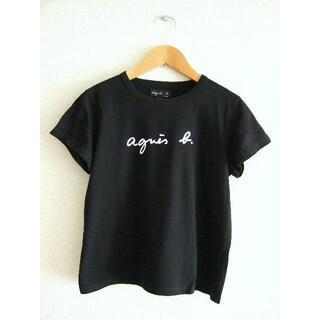 アニエスベー(agnes b.)の国内正規品 agnes b. アニエスベー ロゴ Tシャツ T2 ブラック(Tシャツ(半袖/袖なし))