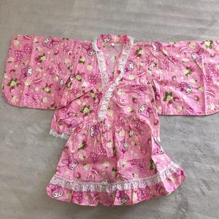 サンリオ(サンリオ)のマイメロディ 浴衣 甚平 100(甚平/浴衣)