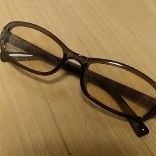 【美品】PCメガネ ブルーライトカットメガネ UVカットメガネ 伊達メガネ