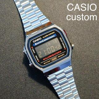 【新品/送料込】CASIO チープカシオ カスタム A168 デジタル腕時計