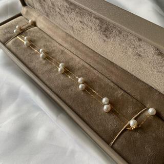 本真珠 2way  パールネックレス 18kゴールド(ネックレス)