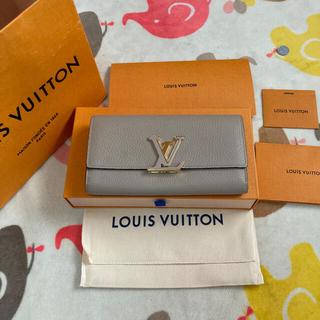 LOUIS VUITTON - 【【美品】ルイヴィトン 長財布 財布 ポルトフォイユ カプシーヌ