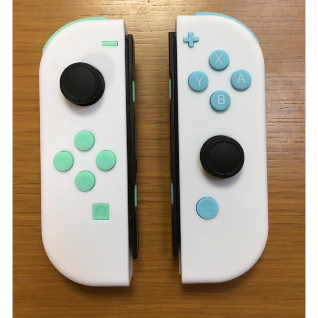 Nintendo Switch(ニンテンドースイッチ)のスイッチ ジョイコン カスタム     スティック新品 エンタメ/ホビーのゲームソフト/ゲーム機本体(家庭用ゲーム機本体)の商品写真