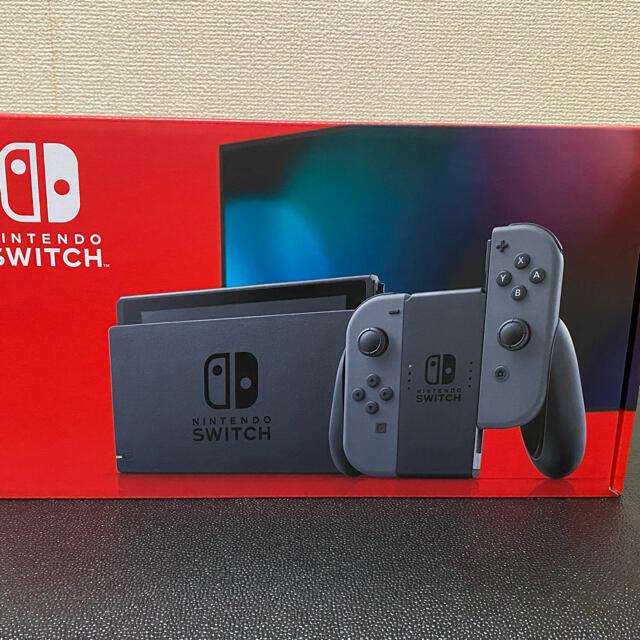 Nintendo Switch(ニンテンドースイッチ)の新品未開封 Nintendo Switch 本体 グレー エンタメ/ホビーのゲームソフト/ゲーム機本体(家庭用ゲーム機本体)の商品写真
