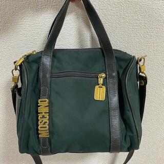 モスキーノ(MOSCHINO)のモスキーノ MOSCHINO ナイロン バッグ ショルダー付き vintage(ショルダーバッグ)