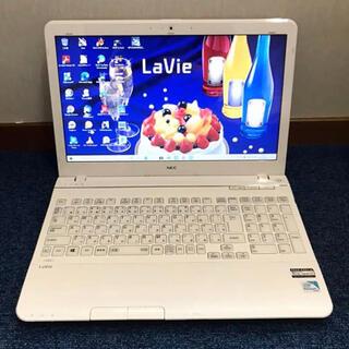 NEC - ☆美品・白☆4コアi7/ブルーレイ/SSD+HDD NEC LS150JS改
