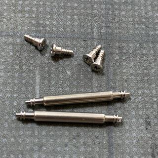 G-SHOCK - CASIO DW5600 ベゼルビス4個 バネ棒2本