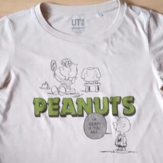 ピーナッツ(PEANUTS)のユニクロ ピーナッツ tシャツ  Mサイズ レディース(Tシャツ(半袖/袖なし))