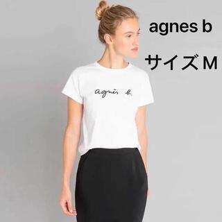 アニエスベー(agnes b.)のagnes b. アニエスべー Tシャツ 白 M(Tシャツ(半袖/袖なし))