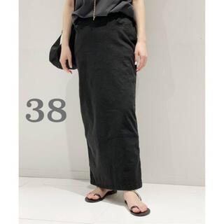 アパルトモンドゥーズィエムクラス(L'Appartement DEUXIEME CLASSE)のAP STUDIO ウォッシュタイトスカート(ロングスカート)