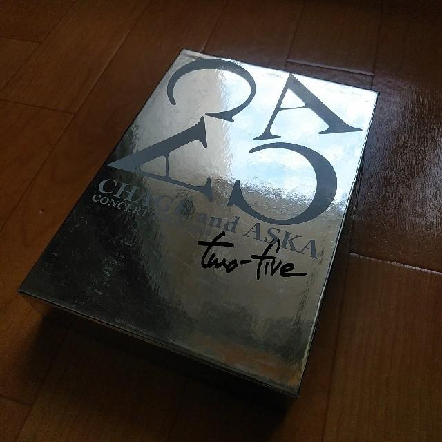 CHAGE&ASKA two-five  LIVE FC限定DVD エンタメ/ホビーのDVD/ブルーレイ(ミュージック)の商品写真